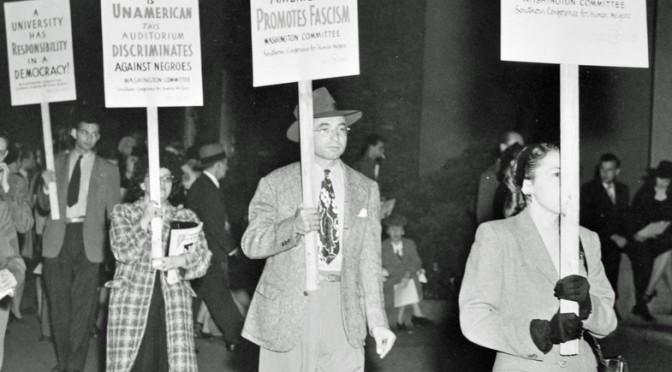 March against racial discrimination