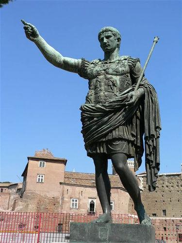 Caesar Statue